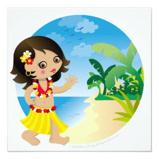 Hawaii girl card