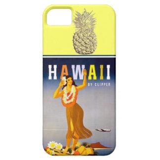 Hawaii Gold Pineapple  Hula Dancer iPhone SE/5/5s Case