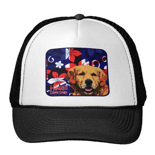 Hawaii Golden Retriever Trucker Hat