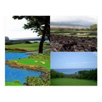 Hawaii Golf Postcard