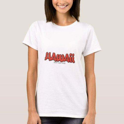 Hawaii Graffiti T_Shirt