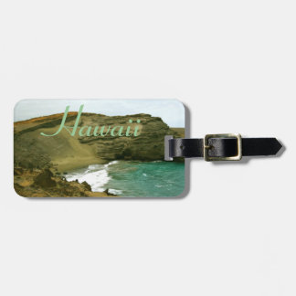 Hawaii Green Sand Beach Baggage I.D. Bag Tag