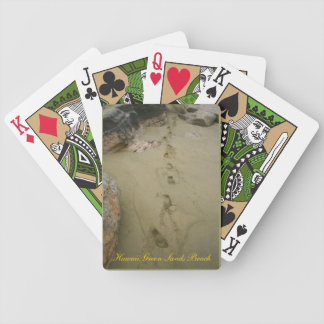 Hawaii Green Sands Beach Bicycle Playing Cards