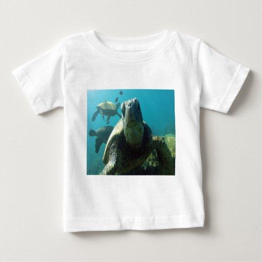Hawaii Green Sea Turtle Baby T-Shirt