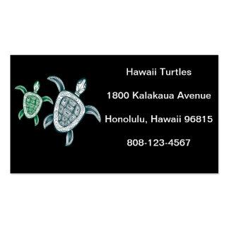 Hawaii Green Sea Turtle Business Card Template