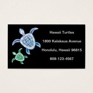 Hawaii Green Sea Turtle Business Card