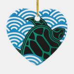 Hawaii Green Sea Turtle Christmas Tree Ornament
