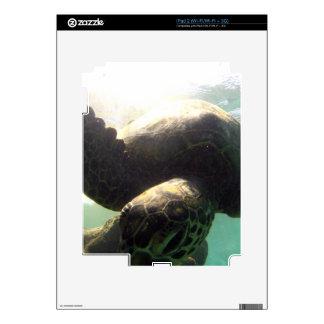 Hawaii Green Sea Turtle iPad 2 Decal