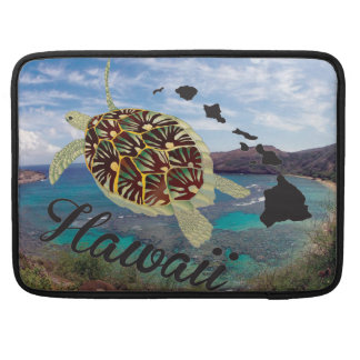 Hawaii Green Sea Turtle Sleeve For MacBook Pro