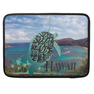 Hawaii Green Sea Turtle Sleeves For MacBooks