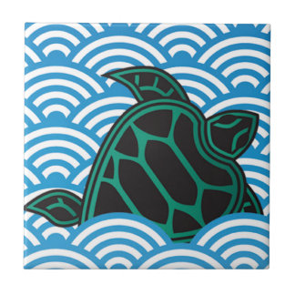 Hawaii Green Sea Turtle Tile