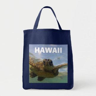 Hawaii Green Sea Turtle Tote Bag