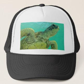 Hawaii Green Sea Turtle Trucker Hat