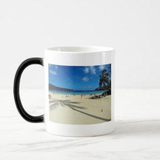 Hawaii Hanauma Bay Beach 11 Oz Magic Heat Color-Changing Coffee Mug