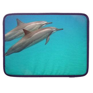 Hawaii Hanauma Bay Dolphins Sleeve For MacBooks