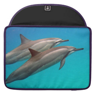 Hawaii Hanauma Bay Manta Ray and Dolphins MacBook Pro Sleeve