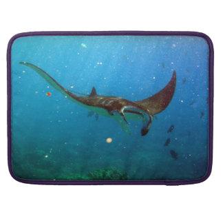 Hawaii Hanauma Bay Manta Ray Sleeves For MacBooks