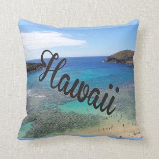 Hawaii Hanauma Bay Oahu Pillow