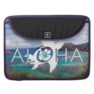 Hawaii Hanauma Bay Turtle MacBook Pro Sleeves