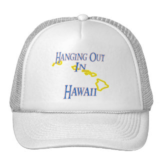 Hawaii - Hanging Out Trucker Hat