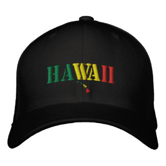 Hawaii Hat Embroidered Baseball Cap