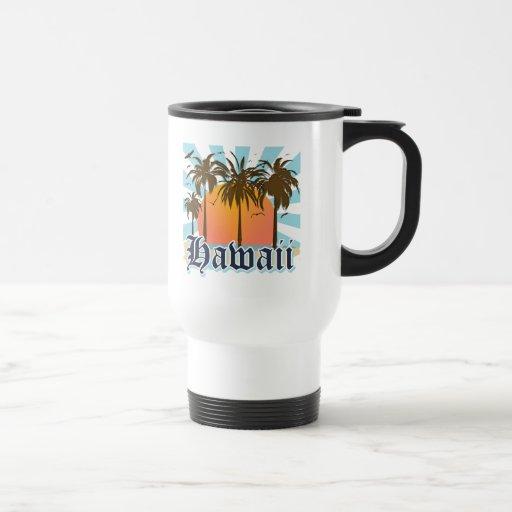 Hawaii Hawaiian Islands Sourvenir Mug
