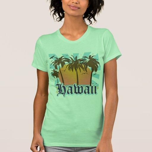 Hawaii Hawaiian Islands Sourvenir T Shirt