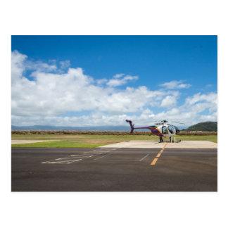 Hawaii Helicopter Adventure Postcard
