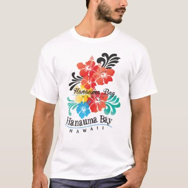 Hawaiian Themed Hawaii Hibiscua Flowers T-Shirt