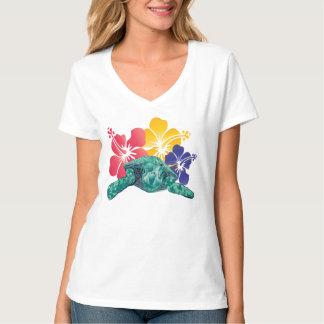 Hawaii Hibiscus Flower T-Shirt