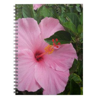 Hawaii Hibiscus Flowers Notebook