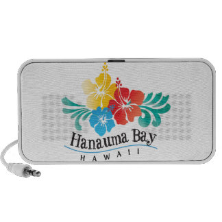 Hawaii Hibiscus Flowers Mp3 Speakers