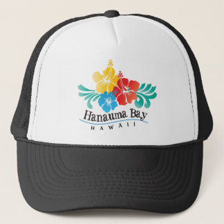 Hawaii Hibiscus Flowers Trucker Hat
