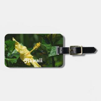 Hawaii Hibiscus Luggage Tag