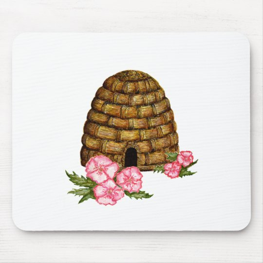 hawaii hive mouse pad