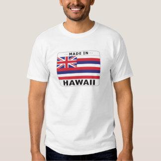 Hawaii hizo adentro camisas