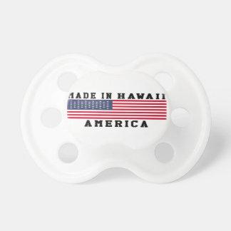 Hawaii hizo en diseños chupetes de bebe