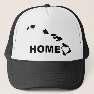 Hawaii Home Away From State Ball Cap Hat