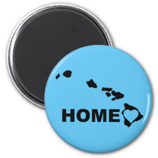 Hawaii Home Away From State Funny Fridge Magnet