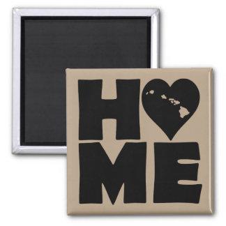 Hawaii Home Heart State Fridge Magnet