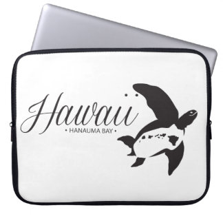 Hawaii Honu Turtle and Islands Laptop Computer Sleeves