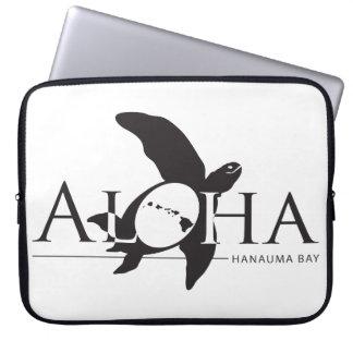 Hawaii Honu Turtle and Islands Laptop Sleeves
