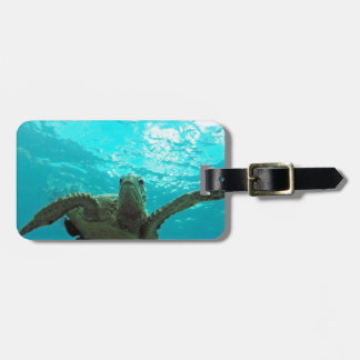 Hawaii Honu Turtle Luggage Tag