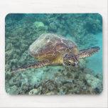 Hawaii Honu Turtle Mouse Pad