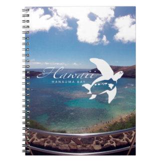 Hawaii Honu Turtle Spiral Notebooks