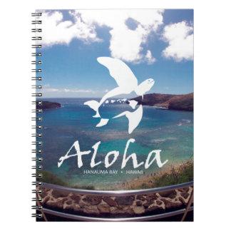 Hawaii Honu Turtle Note Books