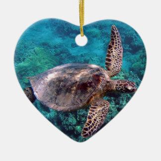 Hawaii Honu Turtle Ornament