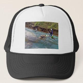 Hawaii Honu Turtle Trucker Hat