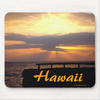 Hawaii Horizon Sunset Mouse Pad