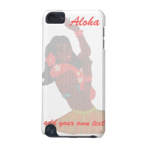 Hawaii Hula Dancer Aloha iPod Touch (5th Generation) Cases